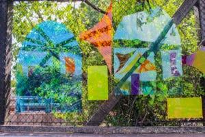 show stainglass window effect